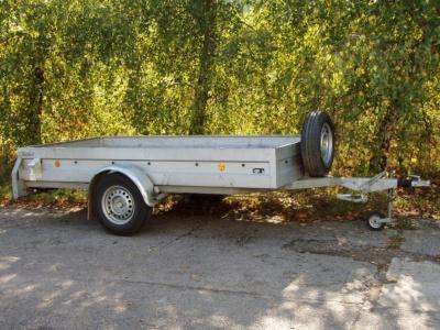 Prenájom prívesného vozíka PONGRATZ GPA 300/15E
